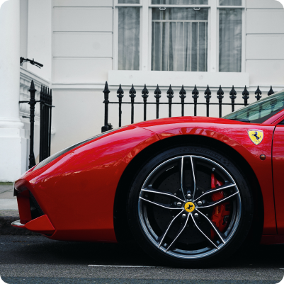 Luxury cars for hire in London by Hertz Dream Collection